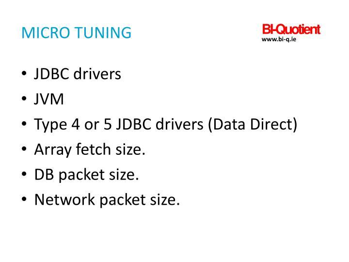 Micro Tuning