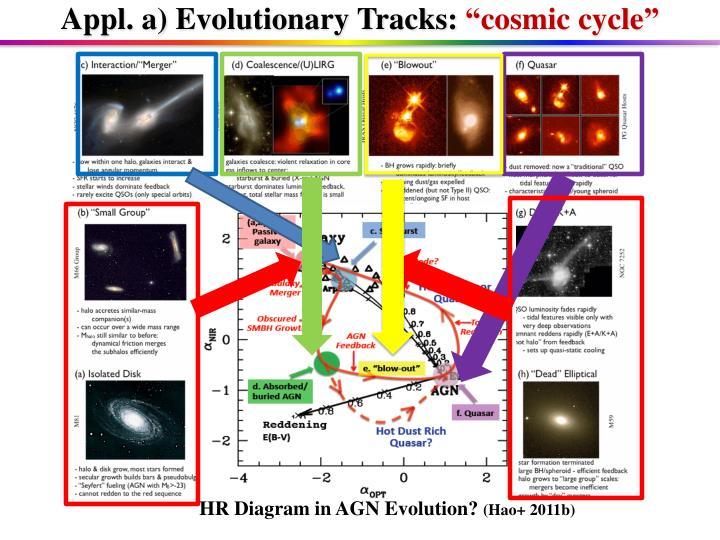 Appl. a) Evolutionary Tracks: