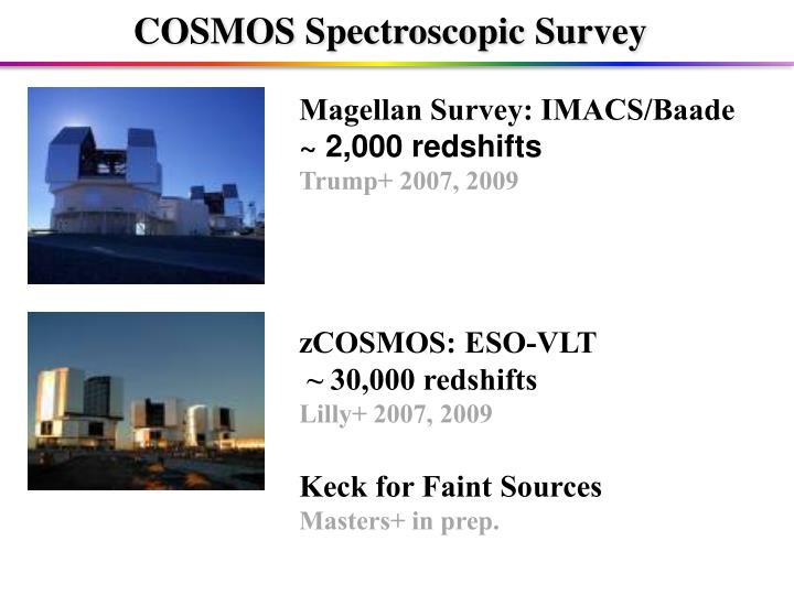 COSMOS Spectroscopic