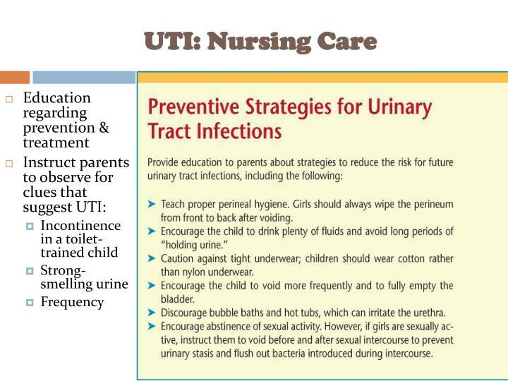 UTI: Nursing Care