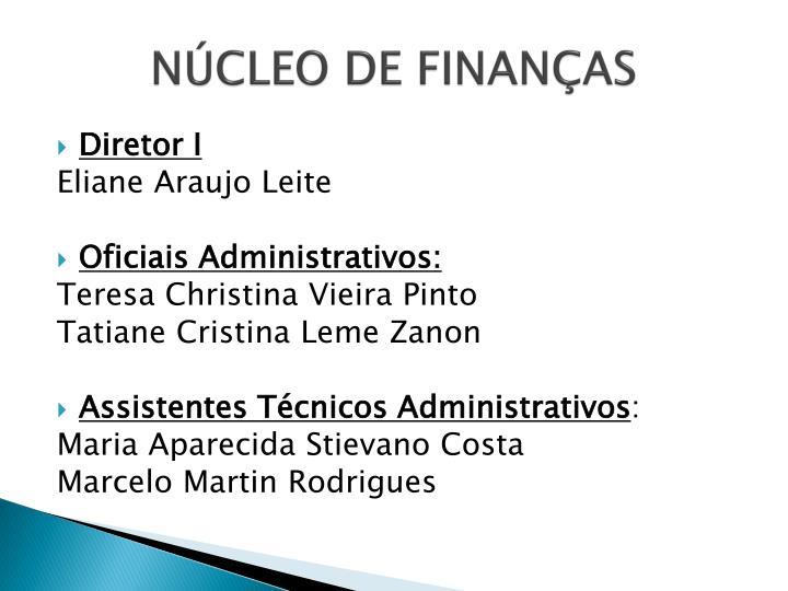NÚCLEO DE FINANÇAS