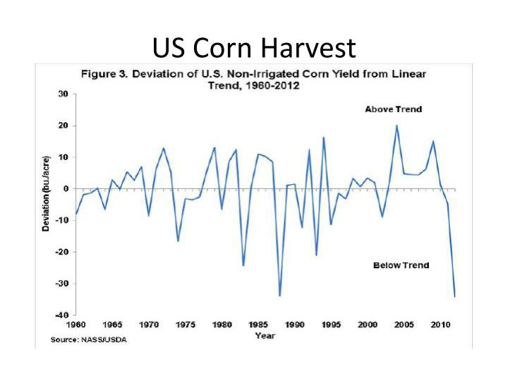 US Corn Harvest