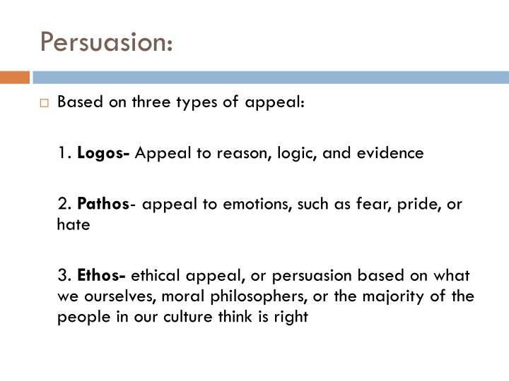 Persuasion: