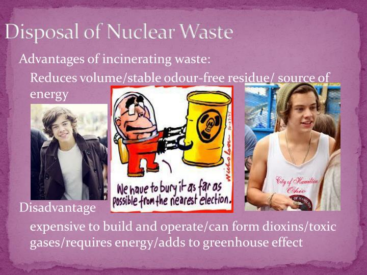 Disposal of Nuclear Waste