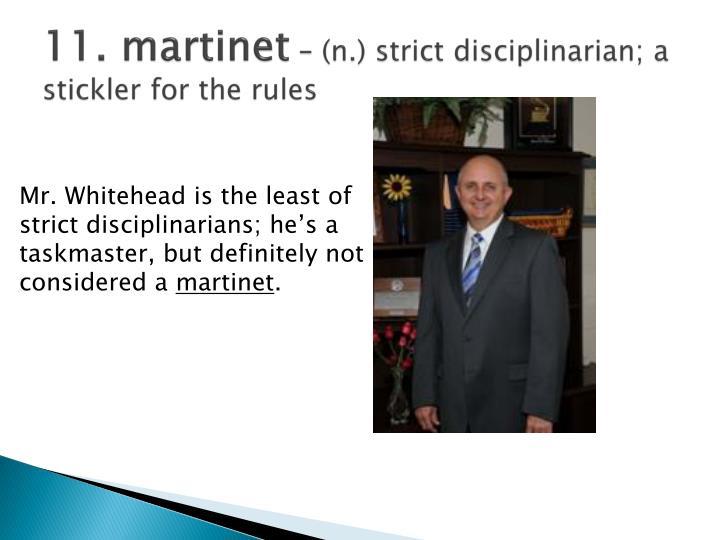 11. martinet
