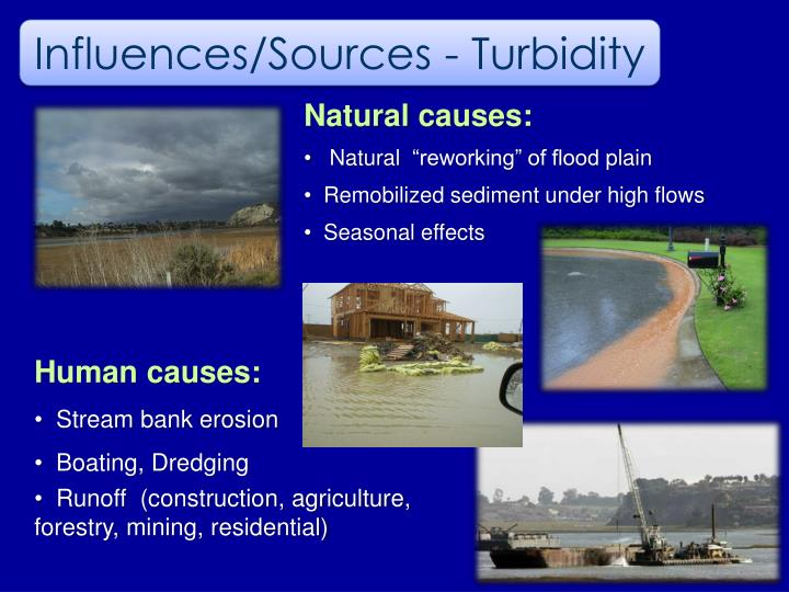 Influences/Sources - Turbidity