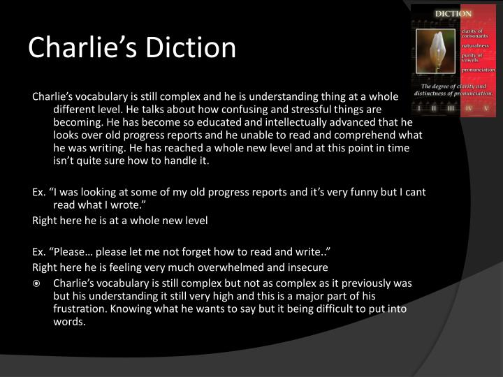Charlie s diction