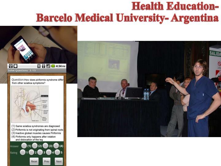 Health Education-