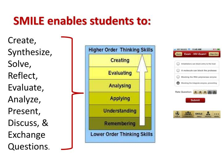 SMILE enables students to: