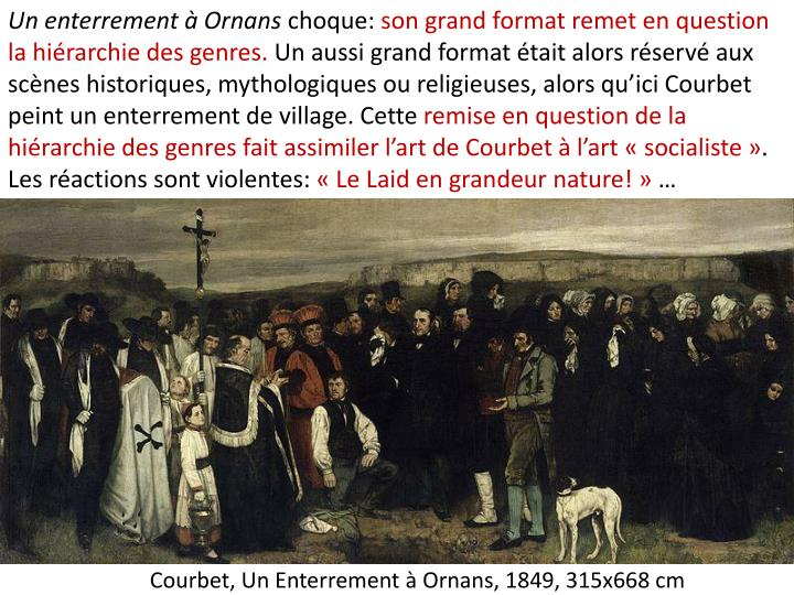 Un enterrement à Ornans