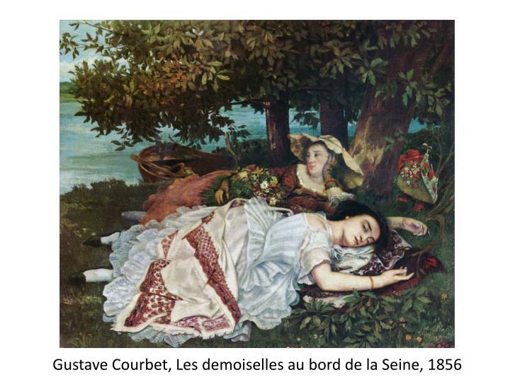 Gustave Courbet, Les demoiselles au bord de la Seine, 1856