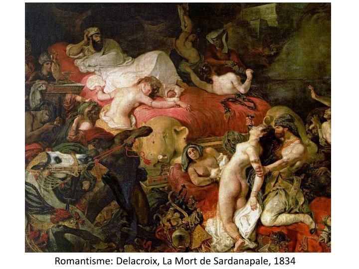 Romantisme: Delacroix