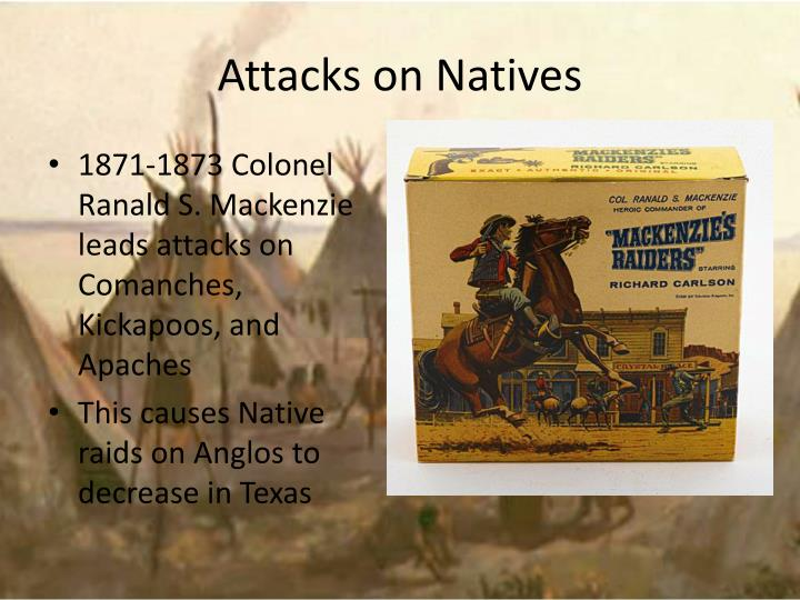 Attacks on Natives