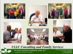 ullc consulting and family services