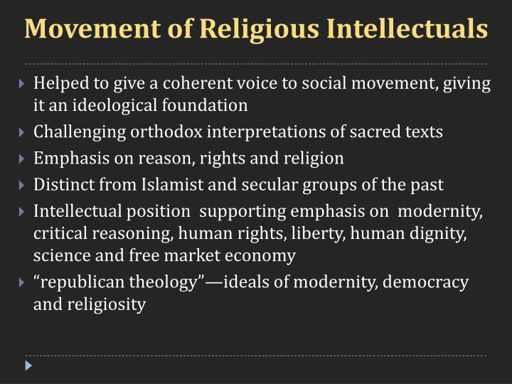 Movement of Religious Intellectuals