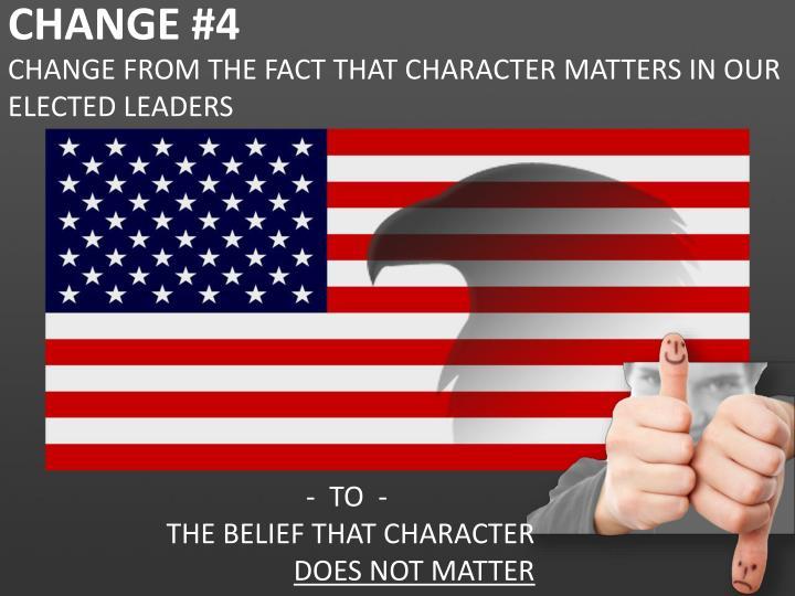 CHANGE #4