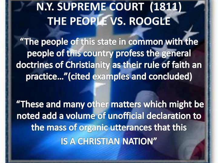 N.Y. SUPREME COURT  (1811)