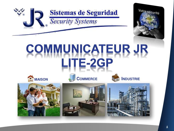 Communicateur jr lite 2gp