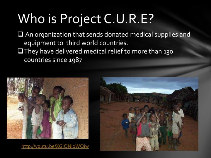 Who is Project C.U.R.E?
