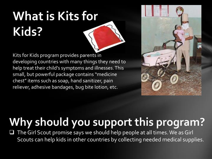 What is Kits for Kids