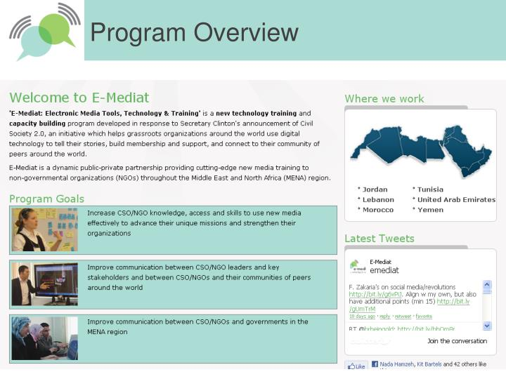 Program Overview