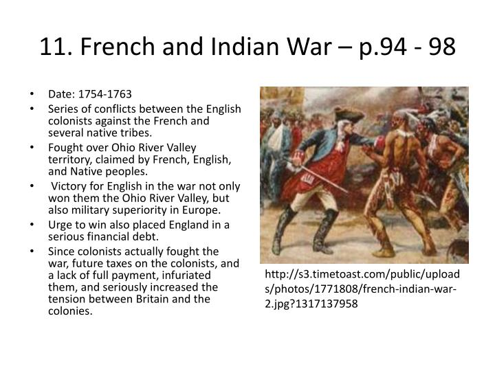 the colonist in french and indian war The french and indian war  the british colonies, alarmed by french activities at their back door, attempted to correlate their activities in the albany congress.