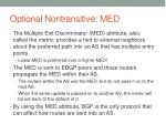 optional nontransitive med