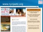 www nynjaetc org