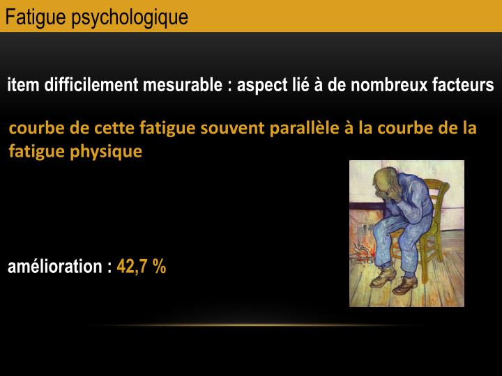Fatigue psychologique