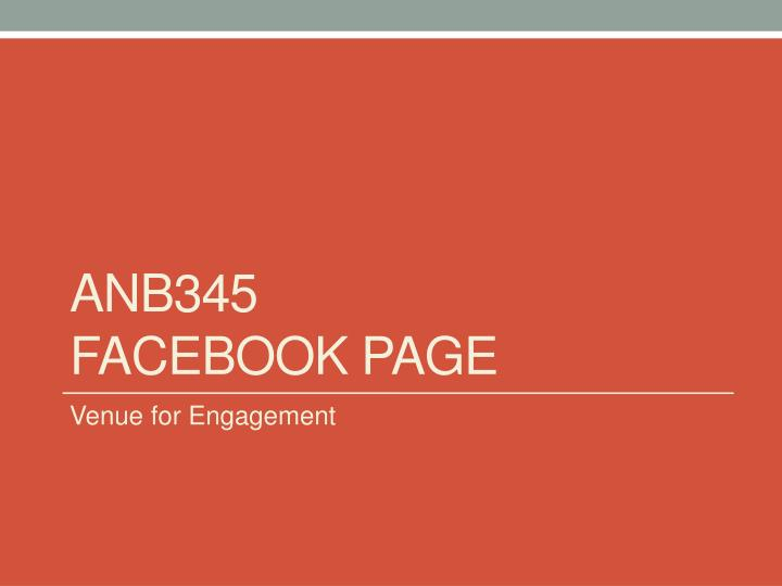 Anb345 facebook page