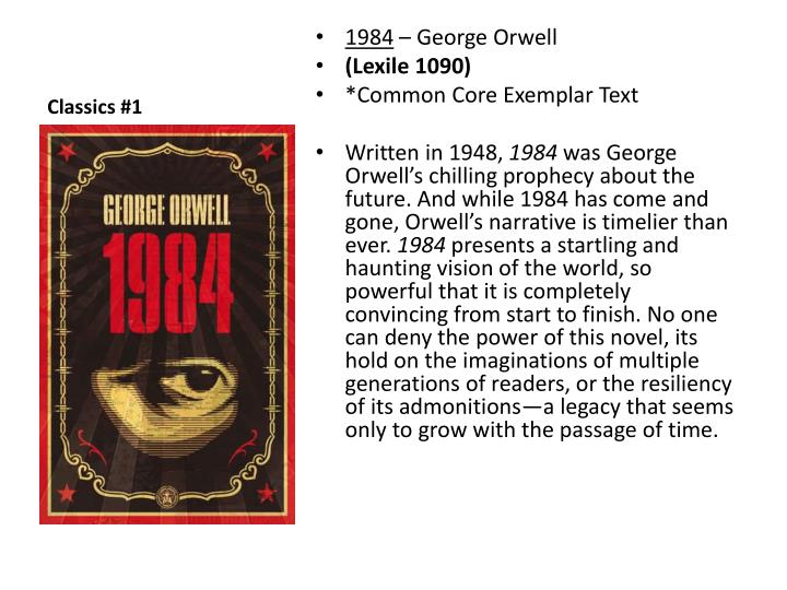 George Orwell's Chilling Vision of the World