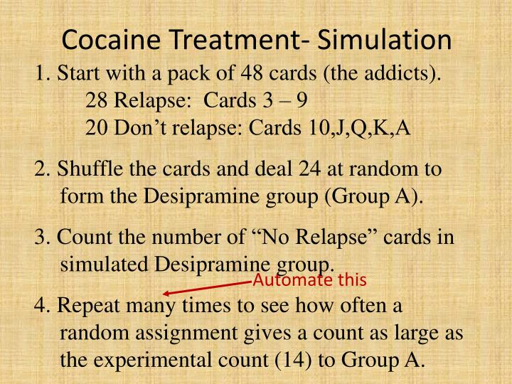 Cocaine Treatment-