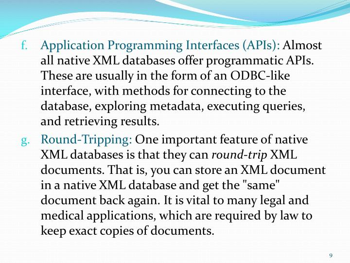 Application Programming Interfaces (APIs):