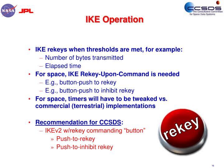 IKE Operation