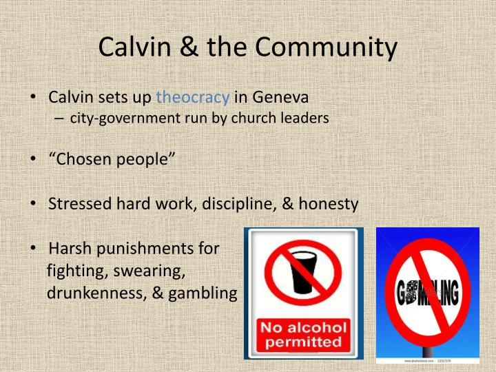 Calvin & the Community