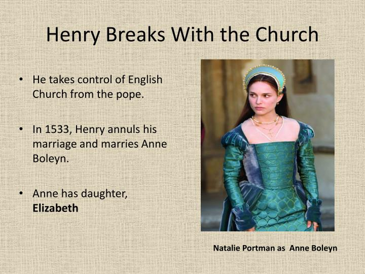 Henry Breaks With the Church