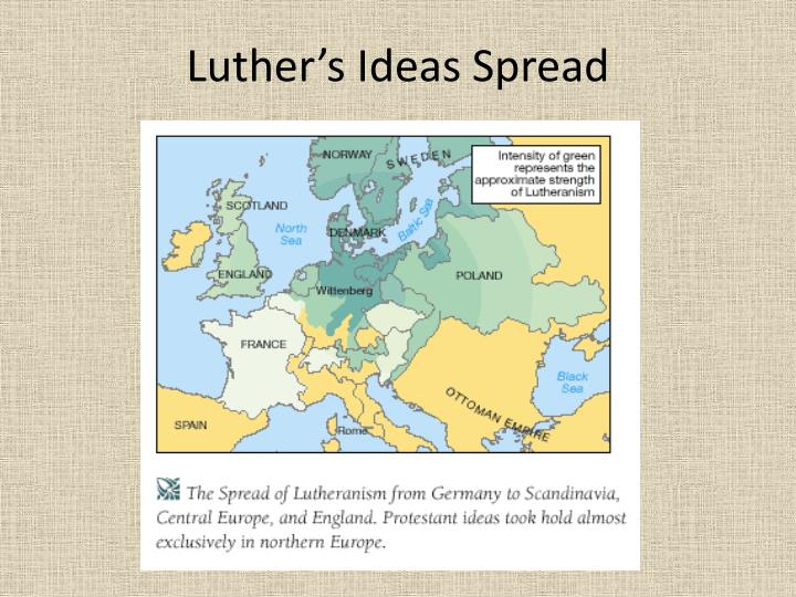 Luther's Ideas Spread