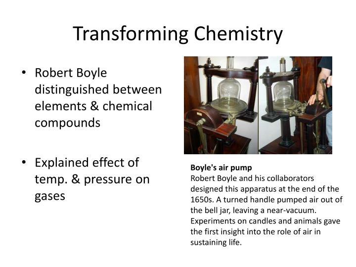Transforming Chemistry