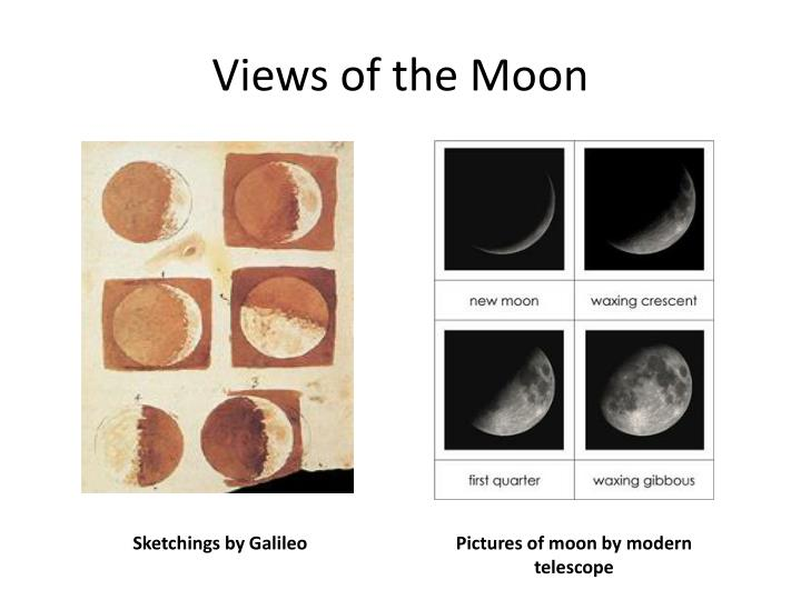 Views of the Moon