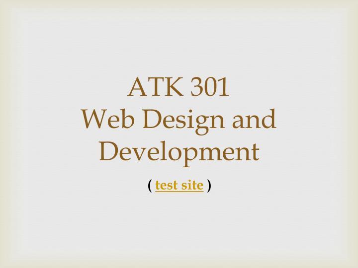 ATK 301