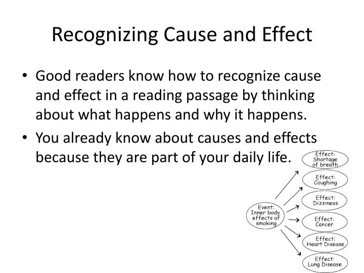 Recognizing Cause and Effect