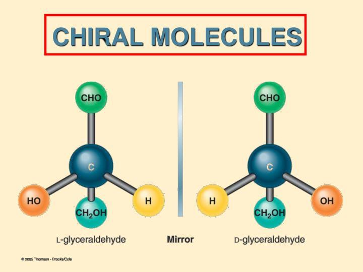 CHIRAL MOLECULES