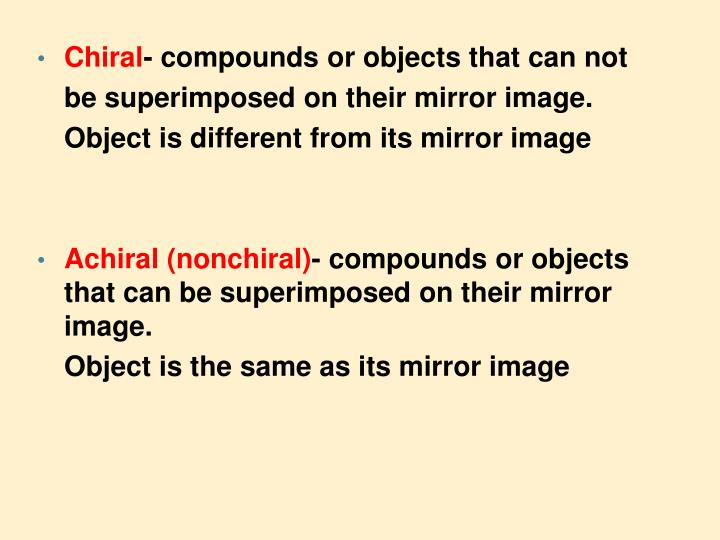 Chiral