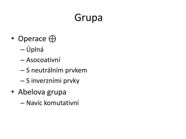 Grupa