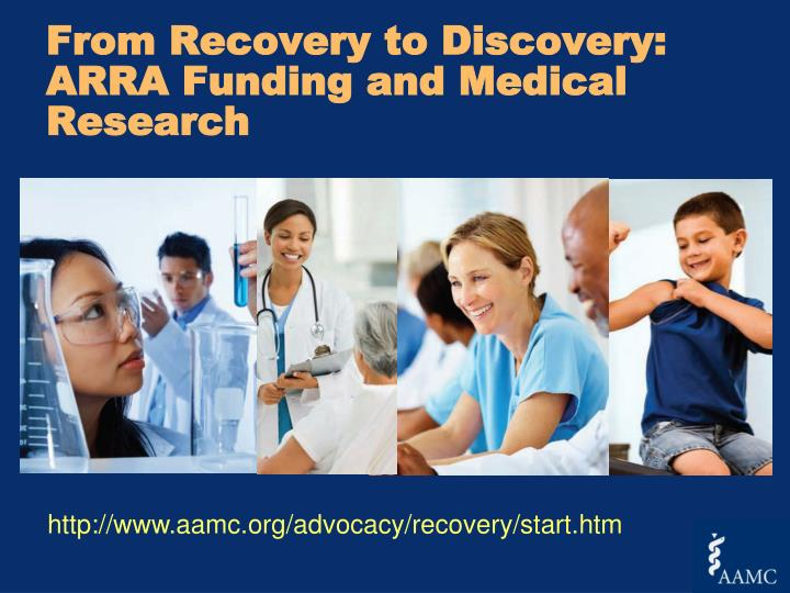 From Recovery to Discovery: ARRA Funding and Medical Research