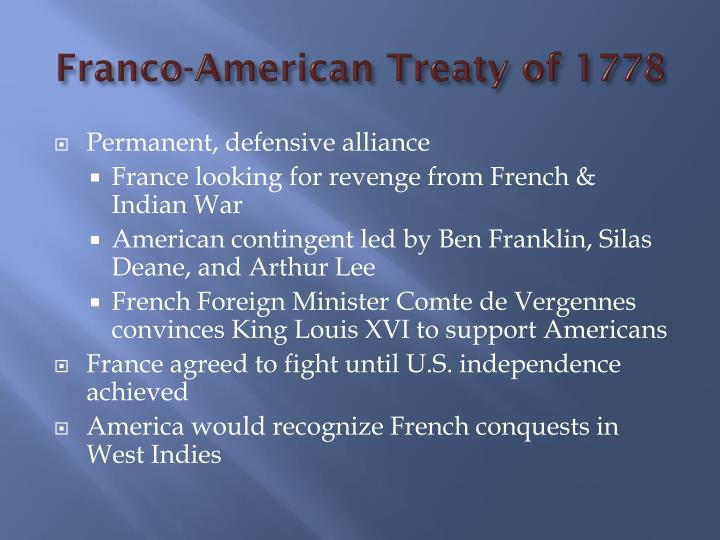 Franco-American Treaty of 1778