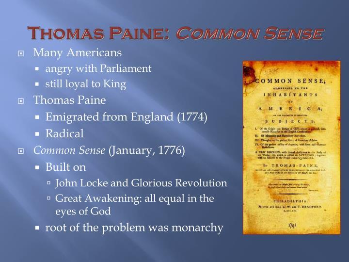 Thomas Paine: