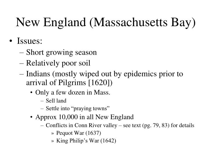 New England (Massachusetts Bay)