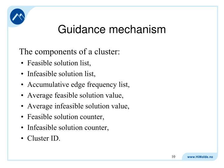 Guidance mechanism