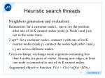 heuristic search threads3